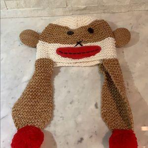 Monkey knit hat